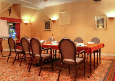 The Holt Hotel conference room